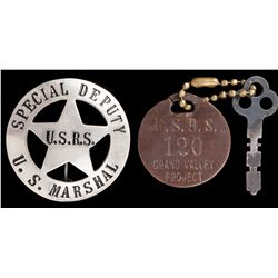 Special Deputy US Marshal USRS Badge
