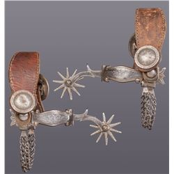 Visalia Stock Saddle Co. Spurs