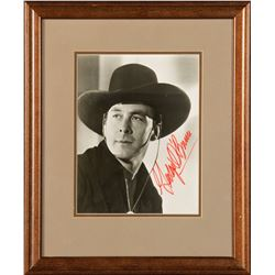 George O'Brien Signed Photograph