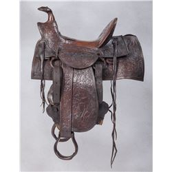 Important Moran Bros. Display Saddle from the Chladiuk Museum Collection