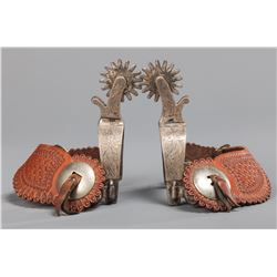 Silver Mounted Parade Spurs
