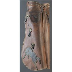 Powder River Studded Batwing Chaps