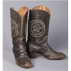 William S. Hart's Studded Cowboy Boots