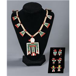 Santo Domingo Necklace and Earrings