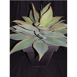 Large Artificial Plant in Tin Holder $25 to $45
