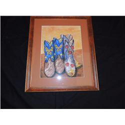 Cowboy Boots by John Saunders $150 to $300