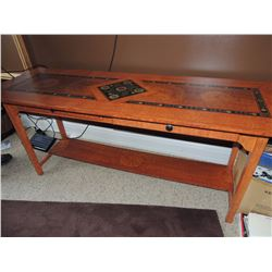 Ornate Entryway Table $100 to $200