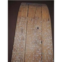 Wood Wall Hanging Sleigh with Stone $500 to $1000
