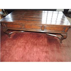 Large Wooden Cocktail Table with Drawers $100 to $250