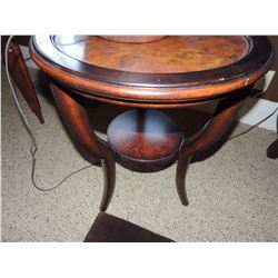 2 Wooden Side Tables $85 to $170