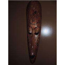 African Wall Hanging - Elongated Face $225 to $350