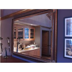 """Large Antique Mirror 56""""W x 44""""H $225 to $450"""
