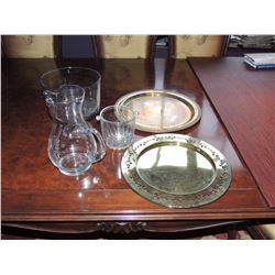 2 Trays, Pitcher, Candy Bowl & Salad Bowl $25 to $50
