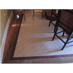"""Large Area Rug 24'10""""L x 13'6""""W $750 to $1500"""