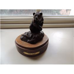 """Bear Sculpture, """"Finders Keepers"""" by Dave Hodges $100 to $200"""