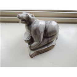 Stone Bear Sculpture $75 to $150