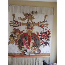 Wall hanging - Totum Pole Characters Dancing $90 to $180