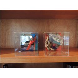 Decorative Art in Case (2pcs) $60 to $120