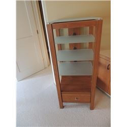 Wooden Display Case with Drawer $125 to $250