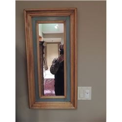 """Small Mirror 30""""H x 15""""W $50 to $100"""