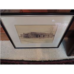"""Photograph of Old Building - Carefree Overshoot Wyoming 14""""W x 11""""H $60 to $120"""