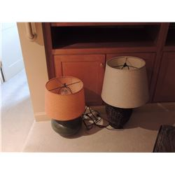2 Lamps $25 to $50