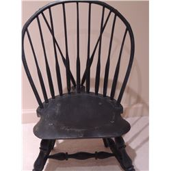 Wooden Black Chair $65 to $130