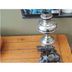 Lamp Base, Train and Pig Candle Holder $35 to $70