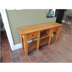 Wood Sofa Table with 2 Drawers $75 to $150