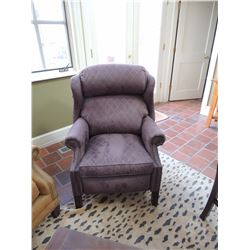 Uphostered Reclining Chair (some damage to fabric) $25 to $50