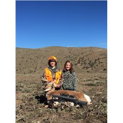 Youth doe pronghorn hunt with High Plain Adventures