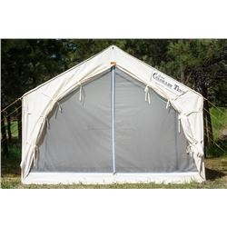 10x12 Canvas Wall tent from Denver Tent