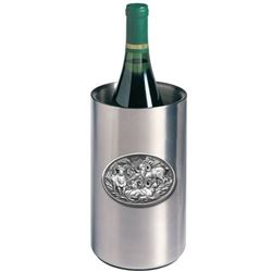 Pewter Wine Cooler and Wine