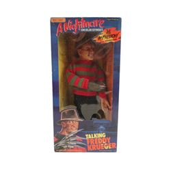 A Nightmare on Elm Street Talking Freddy Krueger Doll Original Box Movie Collectibles
