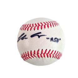 Bruce Campbell Signed Baseball