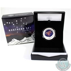 Australia; Perth Mint 2016 $5 Northern Sky 'Ursa Major' Fine Silver Domed Coin (Tax Exempt)