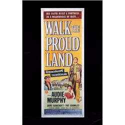 Original Walk the Proud Land Movie Poster 1956