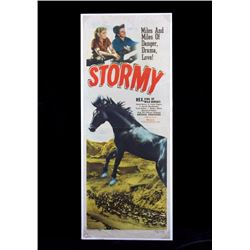 Original 1948 Stormy Movie Poster