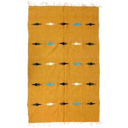 Native American Zapotec Wool Rug