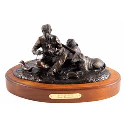 G.C. Wentworth Anticipation Bronze Sculpture