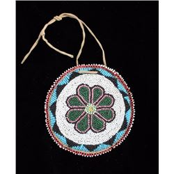 Shoshone Indian Fully Beaded Pouch
