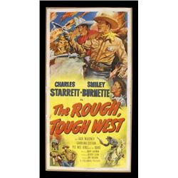 The Rough, Tough West Original 1952 Movie Poster