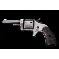 Iver Johnson Defender 89 Nickel 22 Pocket Revolver