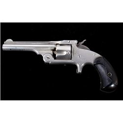 Smith & Wesson Model 1 1/2 .32 SA Nickel Revolver