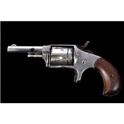 Hopkins & Allen Ranger No.2 .32 RF Nickel Revolver