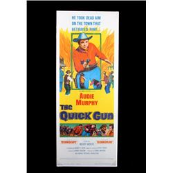 Original 1964 The Quick Gun Movie Poster