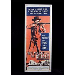 Original No Name on the Bullet Movie Poster 1959