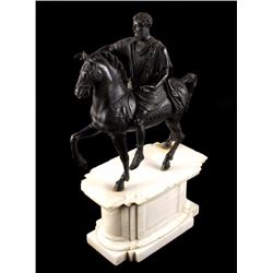 Grand Tour Equestrian Statue of Marcus Aurelius