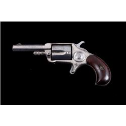 Hood 3 1/2 .32 Double Action Spur Trigger Revolver