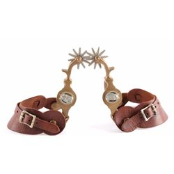 North & Judd Anchor Marked Horse Head Spurs